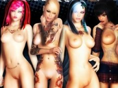 3D Bad Girls - nude XXX pictures