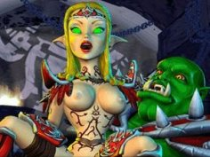 BoneCraft - elf porn in XXX fantasy game
