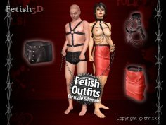 Fetish 3D - BDSM and bondage dirty game